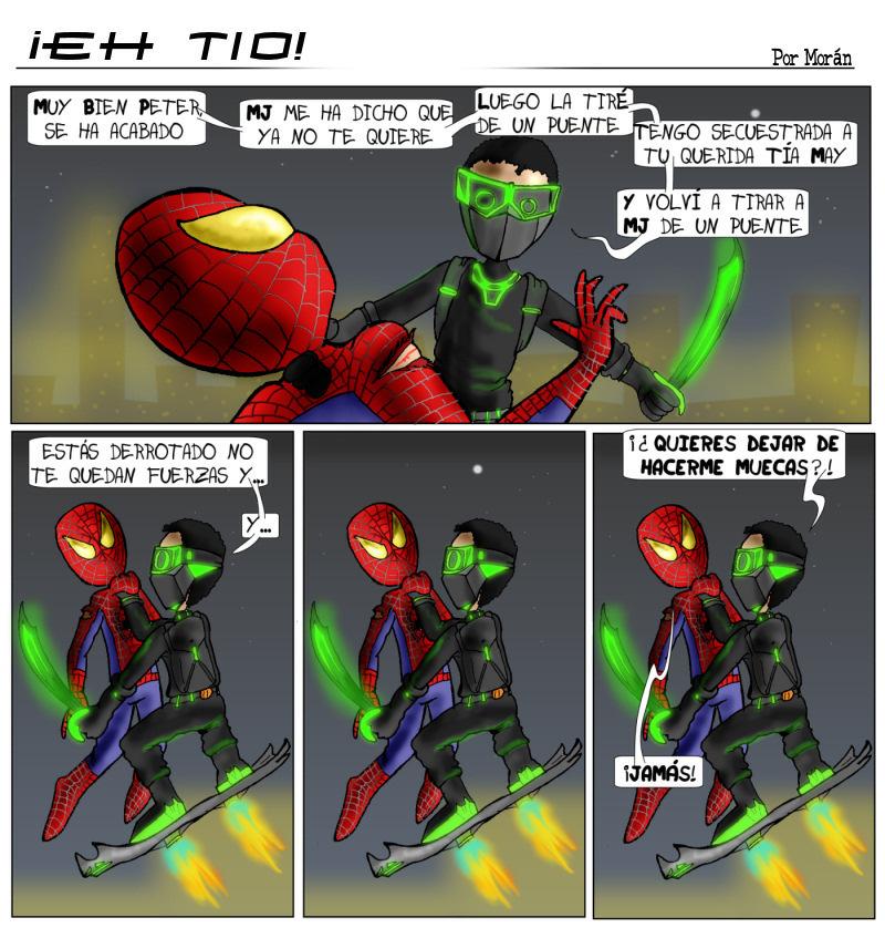 Webcomic Eh Tío Spiderman Vs Duende Verde